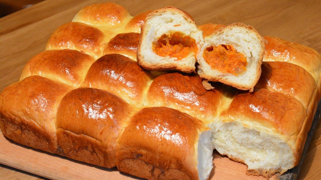 Пирог из тыквы из дрожжевого теста рецепт с