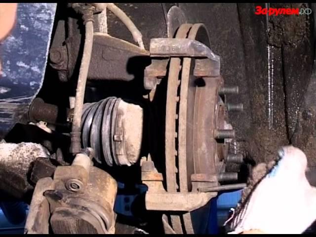Замена тормозных колодок мазда 3 2014 своими руками